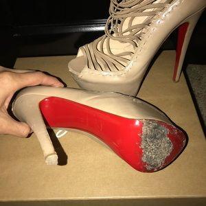 1bde40341ad3 ... leopard pony hair nuria flat gladiator sandals size 8.5 39 7e0de f78c9   reduced christian louboutin shoes christian louboutin zoulou gladiator  6inch ...